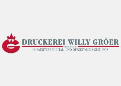 DRUCKEREI WILLY GROER