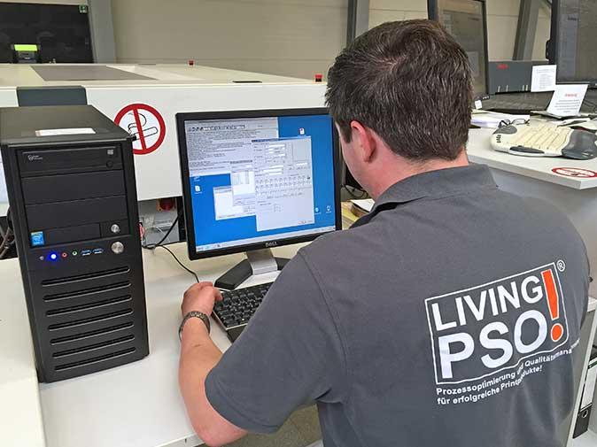 Technische Maschinenabnahme Angebot und Auftragsbestätigung