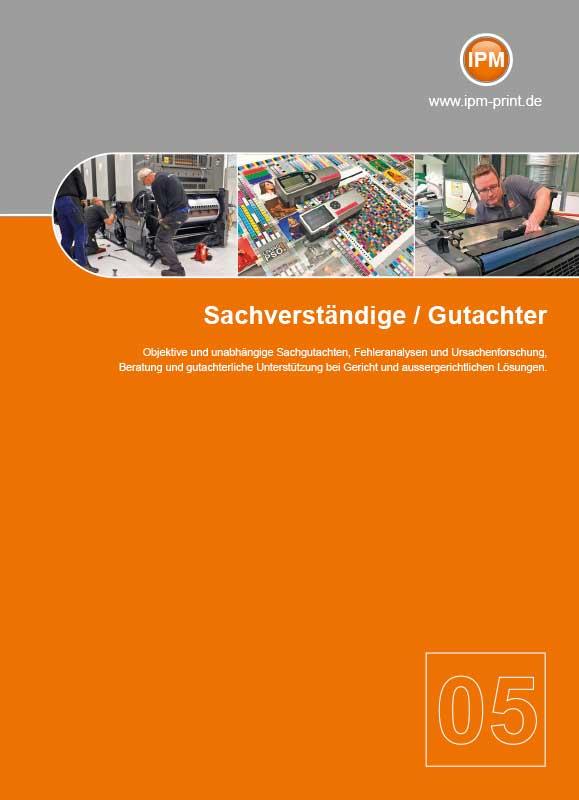 IPM Sachverständige und Gutachter - Broschüre